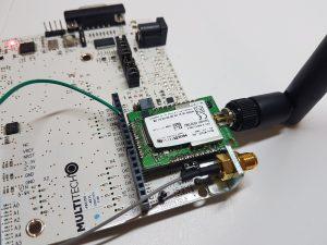 mdot Multitech Multicast LoRaWan ResIOT