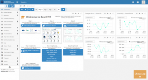 ResIOT Dashboard Preview