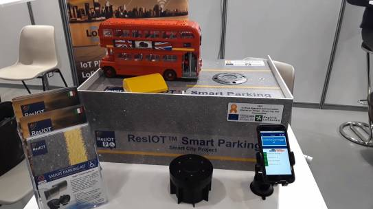 ResIOT™ Smart Parking Simulation!